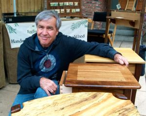 Jack West, Wood Work, Lithia Artisans Market of Ashland, Oregon