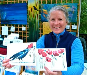 Katrina Meister, Artist, Lithia Artisans Market of Ashland, Oregon