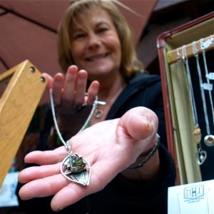 Marty Hogan Jewelry, Lithia Artisans Market of Ashland, Oregon