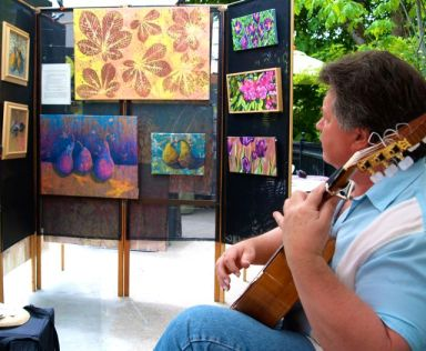 Gitano del Norte brings his flamenco style guitar playing to Lithia Artisans Market this coming Saturday, September 22 from 3-5pm.