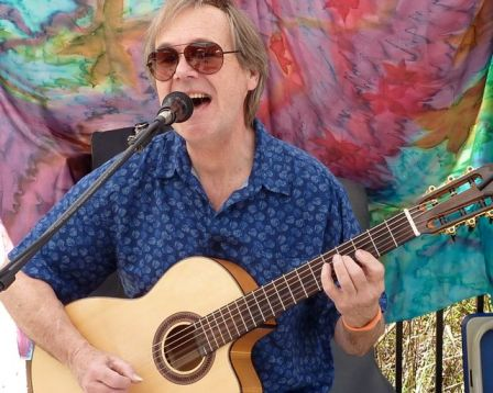Martin Vee plays his eclectic mix of originals on Sunday, June 21 from 11:30-1:30 at Lithia Artisans Market.