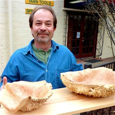 Larry Shinerock of Creative Woodwork makes some of the finest burl bowls you will ever see.