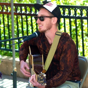 Jared Masters brings his unique laid back style to the market this Sunday, May 25 from 3-5.