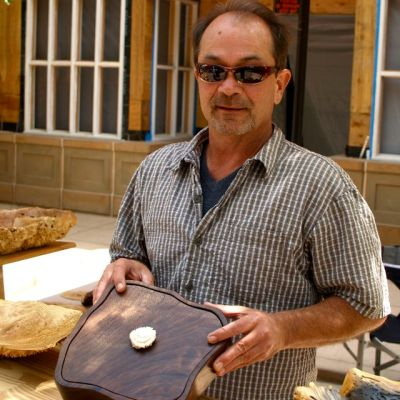"Larry Shinerock of ""Creative Woodwork"" is our featured artisan this coming weekend, July 12 and 13."
