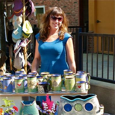 Alissa Clark is this weeks Artisan of the Week. Everything in her booth is 10% Off, so come by and pick up some really cool pottery.
