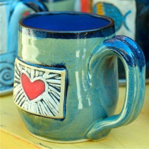 Coffee mug by Alissa Clark Clayworks.