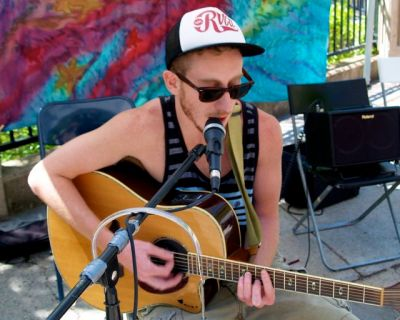 Jared Masters returns for the first time in awhile to the Lithia Artisans Stage, Sunday, August 10 from 3-5. Soulful grooves that take you away to a sunset on your favorite warm beach.