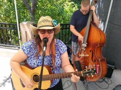 Sage Meadows plays this Saturday from 11-1 on the Lithia Artisans Market stage. Original country tunes... Sage is great!