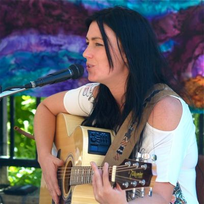 Aliana DeVictoria plays the early set on Sunday, Sept. 21 from 11-1. Her songwriting is really exceptional.