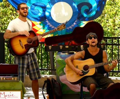 Brothers Reed start out our weekend, Saturday morning from 11-1, September 13. Great original tunes, sweet harmonies!
