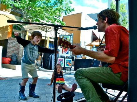 Sunny Erickson of The Sky System will be playing for us this coming Saturday, August 8th from 2:30-4:30.