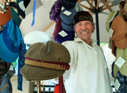 JIm Young, The Hat People, Lithia Artisans Market of Ashland, Oregon (LAMA).