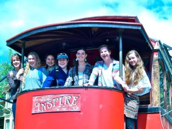 Streetcar Named Inspire at Lithia Artisans Market of Ashland, Oregon.
