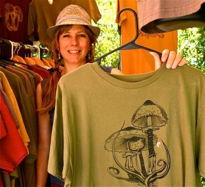 Sunny Lindley, Sundial Arts, Lithia Artisans Market Ashland, Oregon