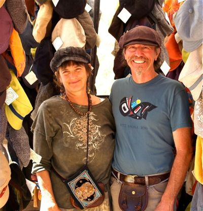 Hat People, Jim and Carol Young, Lithia Artisans Market Ashland Oregon