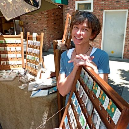 Karen West, Jeweler, Lithia Artisans Market of Ashland LAMA