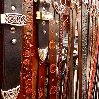 gene-nawrocki-belts-lithia-artisans-market-ashland-oregon