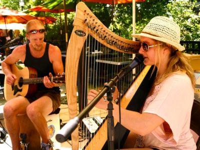 The Ancient Wild, Live Music, Lithia Artisans Market Ashland, Oregon