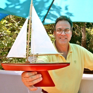Jeff Patterson, Constellation Pond Yachts, Lithia Artisans Market Ashland (LAMA)