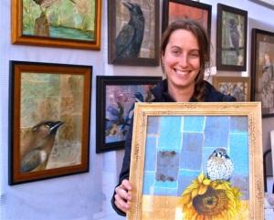 Erin Linton, Fine Artist, 2017 Lithia Artisans Christmas Faire
